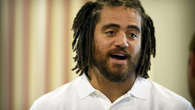 Lebanon High grad Jared Odrick recently spoke out on some of society's problems in a column for Sporting News
