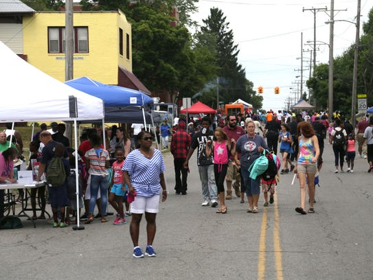 Hundreds came out for the Oasis of Love Church Community