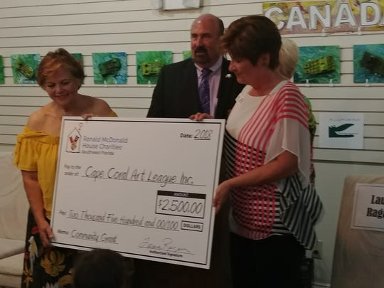 Ronald McDonald Charities of Southwest Florida gave