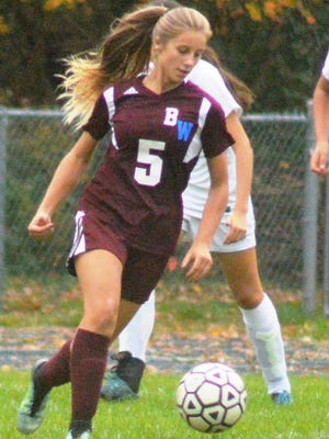 Becton/Wallington senior defender Alexa Fischetto was one reason the squad defended its division title.
