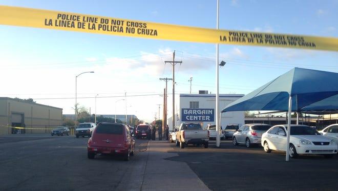 Mesa police said 21-year-old Joshua E. Johnson was found dead near Country Club Drive and Main Street on Feb. 23, 2015.