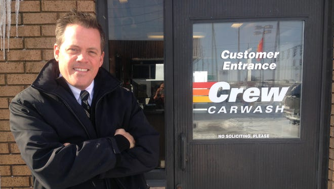 Tom Wiederi is the human resource and recruiting manager for Crew Carwash.