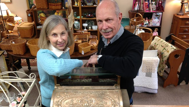Sue and Bill Hetherington recently opened Whistling Swan Antiques at the College Avenue Shoppes.