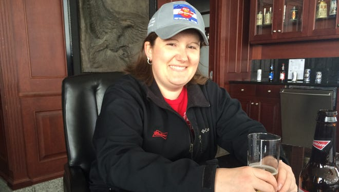 Katie Rippel is the senior brewmaster at the Fort Collins Budweiser plant.