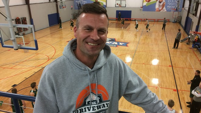 Ryan Borowicz has hosted 44 basketball camps since opening The Driveway in June. The former Ashwaubenon and University of Wisconsin-Green Bay standout hopes to build a niche as Northeastern Wisconsin's lone basketball-only training facility.