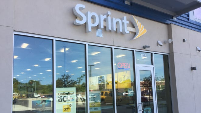 Sprint Corp.'s Milwaukee stores include a shop at 1316 S. 1st St. The store opened in early 2017.