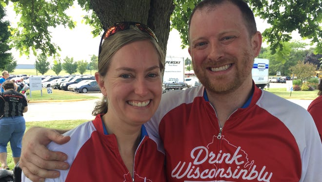 Timothy and Kristen Kell both have undergone treatment for lymphoma and were set up on a blind date 10 years ago.
