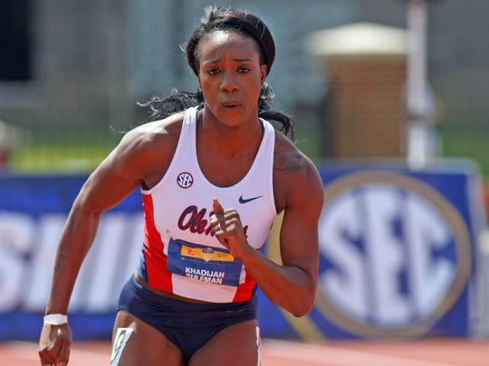 Khadijah Suleman is one of seven former or current Ole Miss athletes to qualify for the Olympics.