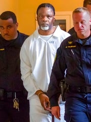 Ledell Lee appears in Pulaski County Circuit Court