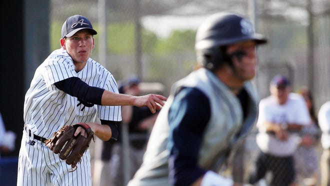 Ascension Episcopal infielder/pitcher Rowe Stipe will play a big role for the Blue Gators against Central Catholic. Leslie Westbrook,/The Advertiser