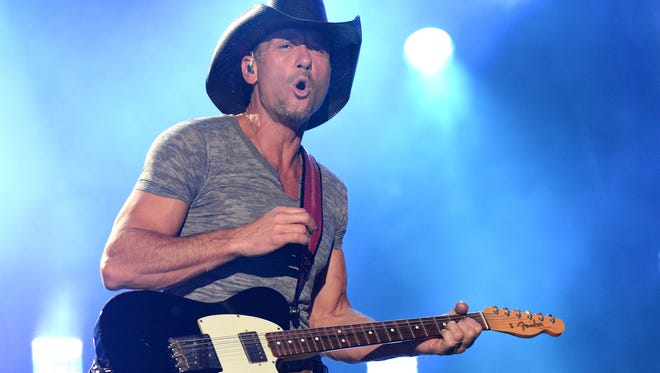 Tim McGraw is one of the headliners at this year's Tortuga Festival, presented by Rock The Ocean, in Ft. Lauderdale.