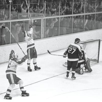 Cornell hockey game viewed as the most legendary in the history of Lynah Rink