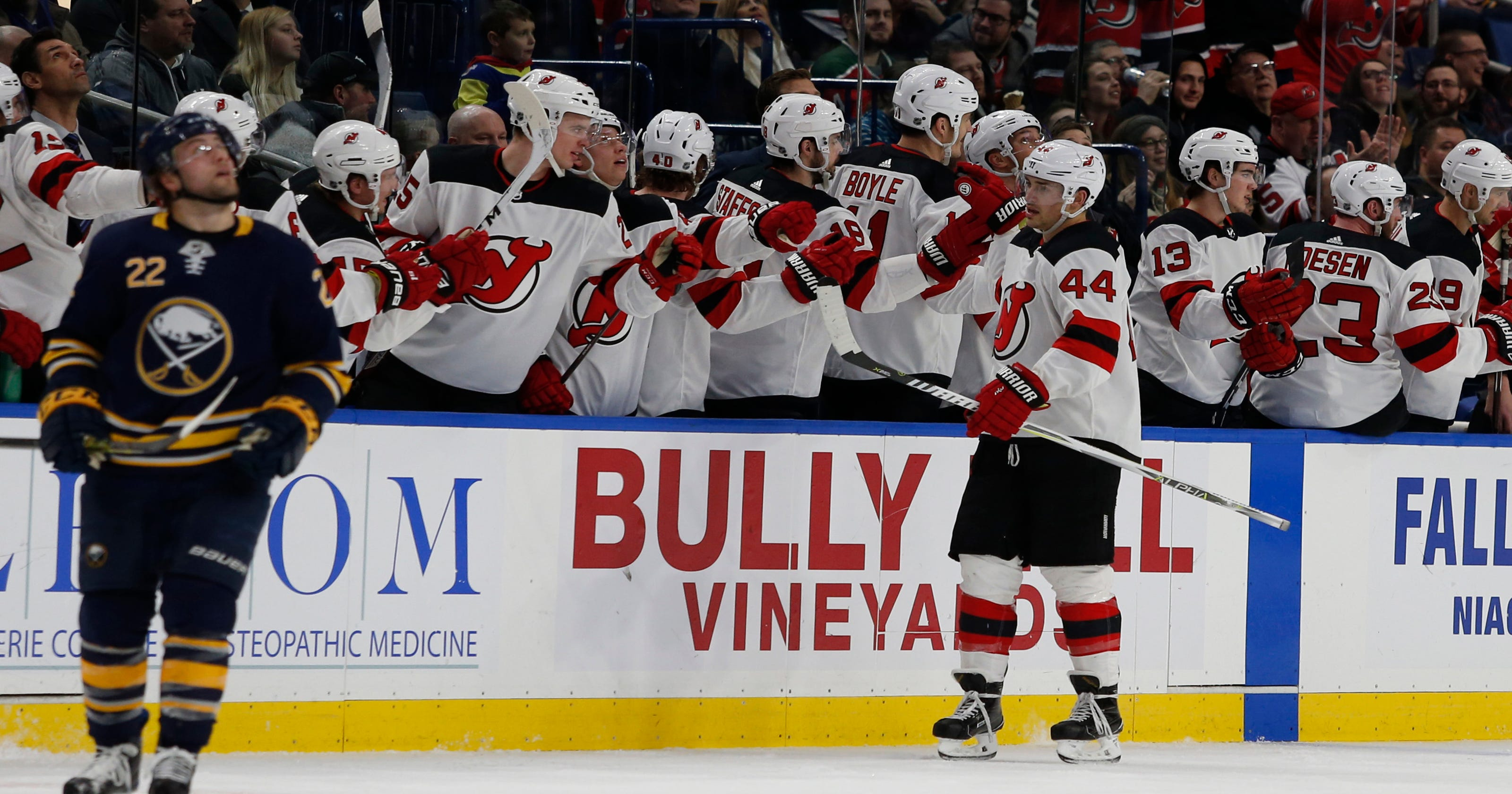 When NJ Devils Miles Wood knew he had taken next step as player d56650845