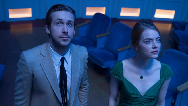 'La La Land,' starring Ryan Gosling and Emma Stone, is up for 12 Critics' Choice Awards including best picture, best actor and best actress.