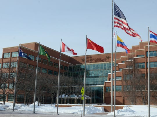Kellogg Co. world headquarters in downtown Battle Creek.