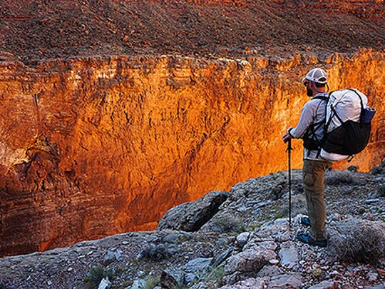 The beauty of the Grand Canyon spurs a small group of people to hike the length of the canyon.