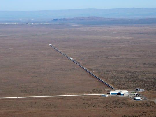 The Laser Interferometer Gravitational Wave Observatory,