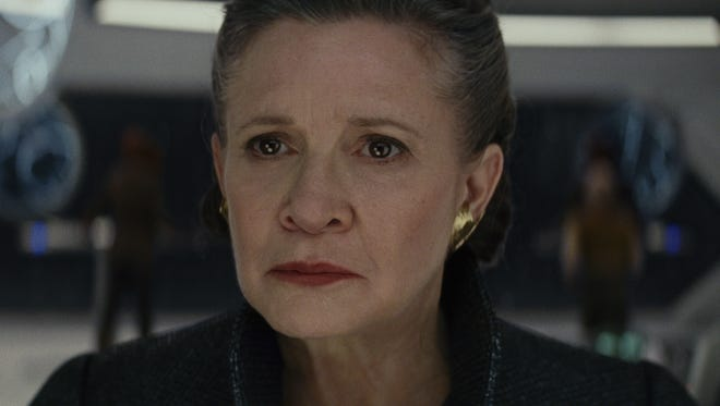 'Star Wars: The Last Jedi' will be the final performance for Carrie Fisher as General Leia.