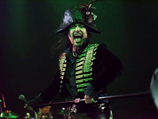 Adam Ant 'Kings of the Wild Frontier' concert