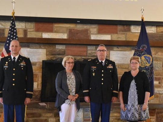 Charlie Devor, a lifetime resident of Chambersburg, was recently promoted to Chief Warrant Officer 5 for the Army National Guard.