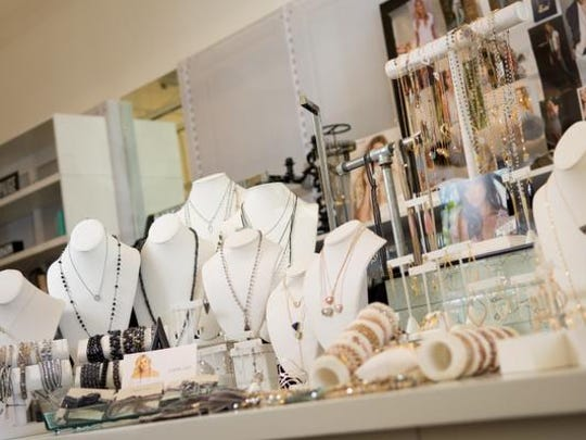 Jewelry and accessories at Savvy Boutique at The Summit Reno.