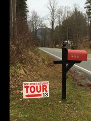 Follow the Toe River Arts Council Holiday Studio Tour signs to artists throughout Yancey and Mitchell counties.