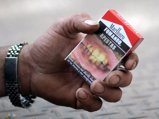 Cigarette Graphic Warnings