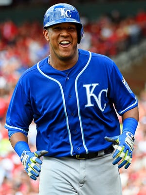 """Everyone knows us,"" Royals catcher Salvador Perez says of fans in Kansas City. ""But that's a good thing."""