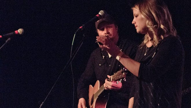 Andy Rosenquist, Jocelyn Ecker and the rest of Cracklin' Blue will warm up the crowd for Music in the Brewhouse on Feb. 21.