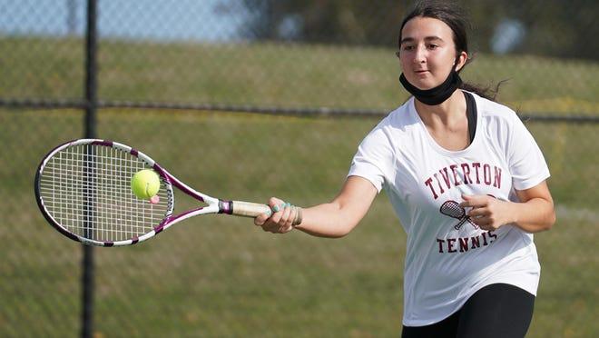 Tiverton will take on Mount Hope in girls tennis on Monday.