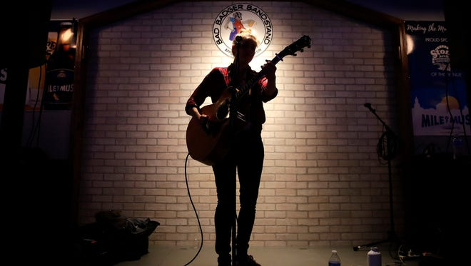 Megan Slankard is among the artists returning for Mile of Music this week.