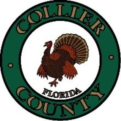 The Collier County seal.