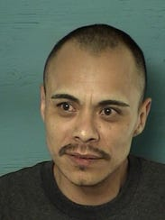 A mug shot of Jose Anthony Rodriquez, a Reno man who