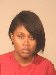 Janai Mercedes Smothers, 25, is accused of engaging