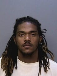 Ceddrick Proctor, 22, of Redding, was arrested on a