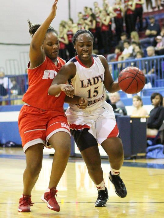 Ruston @ West Monroe girl's basketball