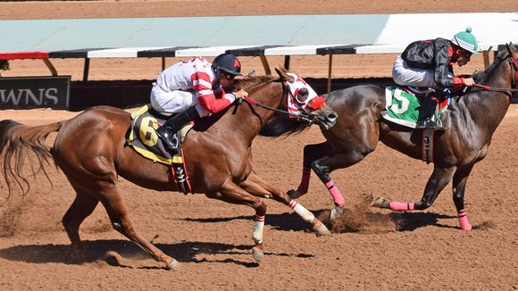 Ruidoso Downs Race Track and Casino has a pair of huge stakes races Saturday.