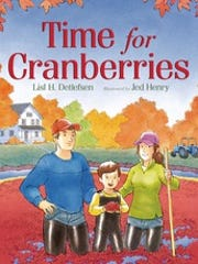 "Lisl Detlefsen will hold a book signing for her book,  ""Time for Cranberries,"" on Saturday at Gepetto's Workshop in Stevens Point."