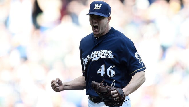 Corey Knebel has at least one strikeout in 21 straight games.
