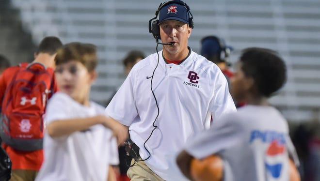 Comeaux coach Doug Dotson