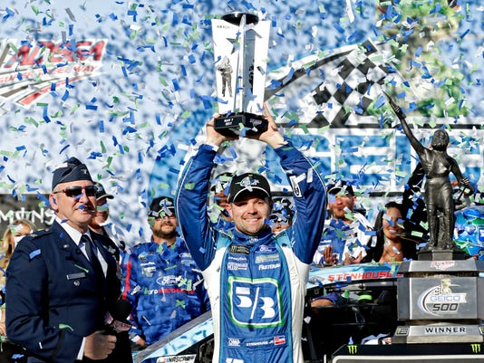 USP NASCAR: GEICO 500 S CAR USA AL