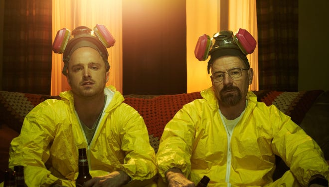'Breaking Bad,' starring Aaron Paul and Bryan Cranston, was the TV season's top Twitter draw among TV series.