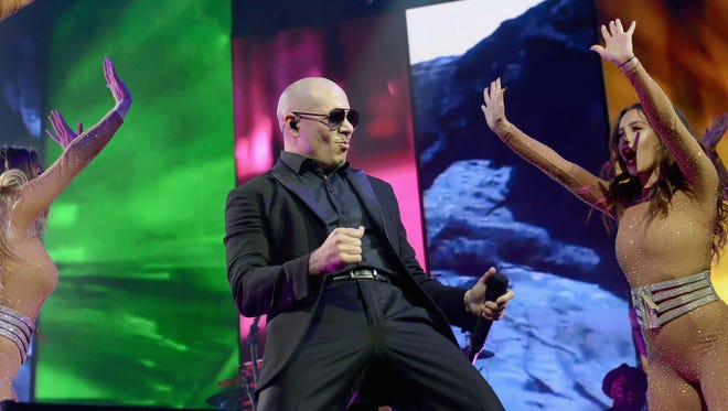 Pitbull performs at Hard Rock Live! in the Seminole Hard Rock Hotel & Casino on August 1, 2016 in Hollywood, Fla.
