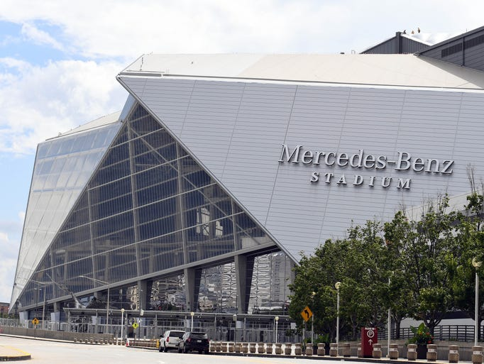 Mercedes-Benz Stadium, the new home of the NFL's Atlanta
