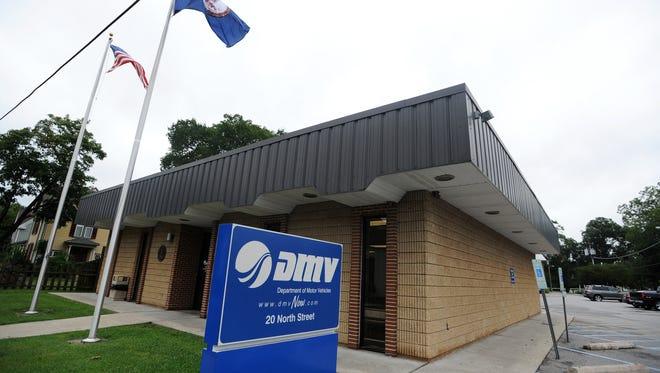 The Department of Motor Vehicles office in Onancock, Va.