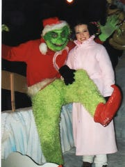 Mark Cline will be in full costume as the Grinch on