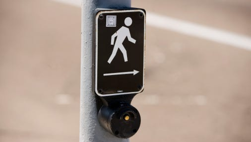 Expect intermittent lane closures along Pensacola Beach for new pedestrian crossing improvements.