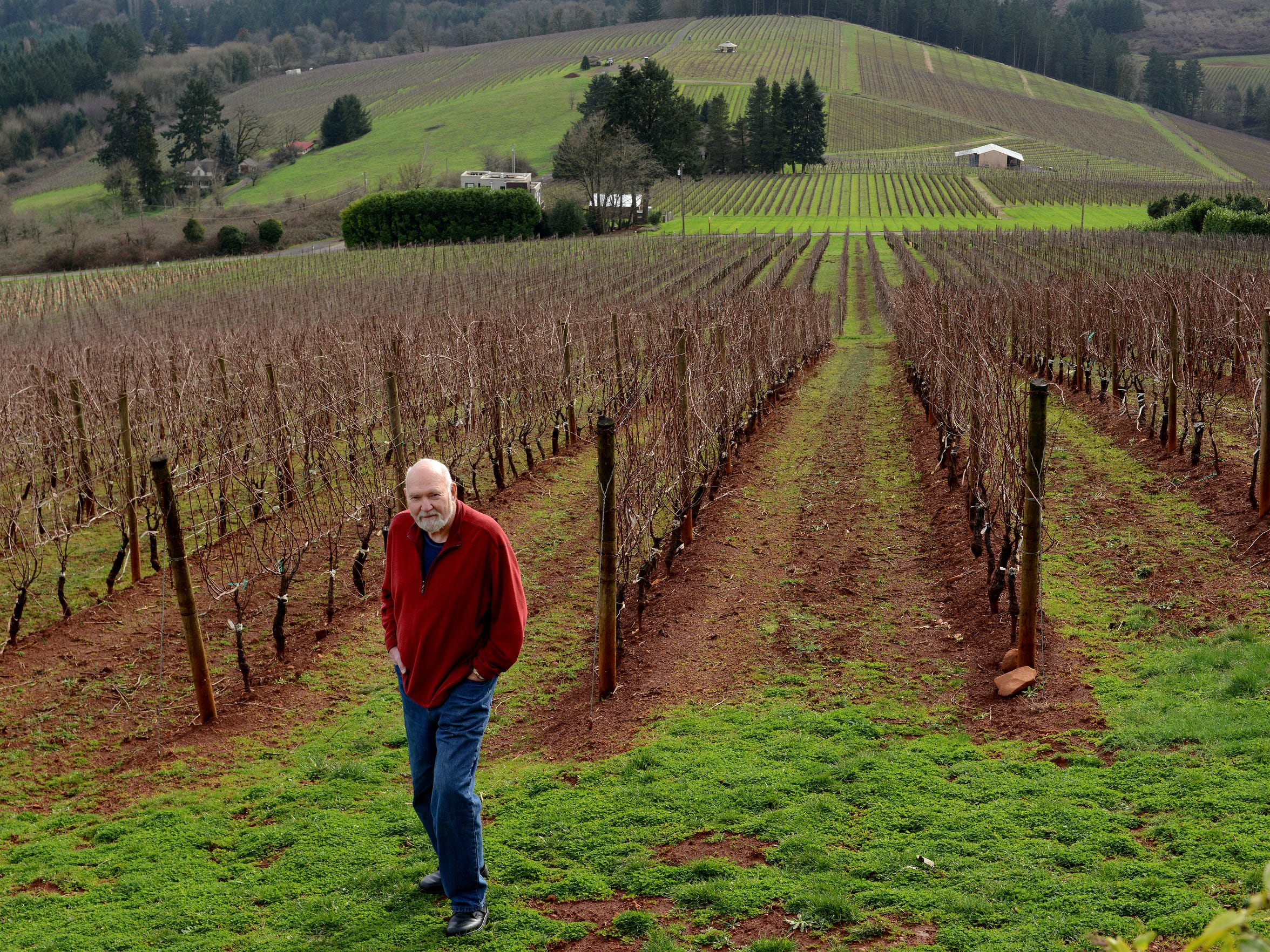 Dick Erath, one of the pioneers of pinot noir in the