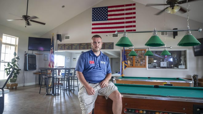 """Dave Walden is a Veterans of Foreign Wars post commander in Leander and the district commander for VFW District 28. His post closed along with hundreds of others when Gov. Greg Abbott shuttered bars in June in response to rising coronavirus cases. He said smaller posts in the area might be forced to shutter for good. """"There are some that may not be able to bounce back from this,"""" he said."""