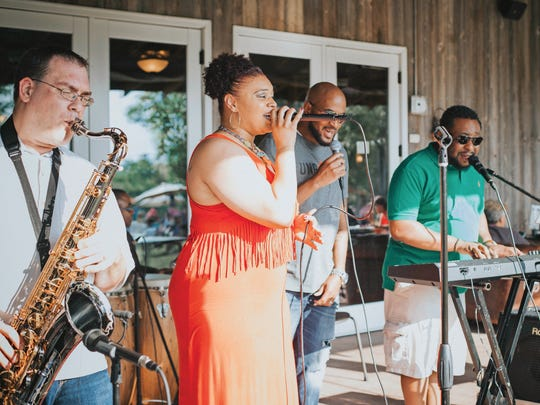 The Special Occasions Band plays at the Winery at Bull